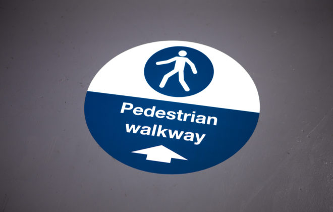 safety graphics and labels - floor graphics