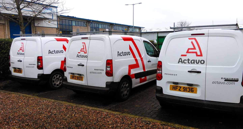 vehicle graphics - actavo - fleet