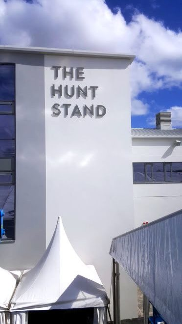 punchestown - raised hunt stand