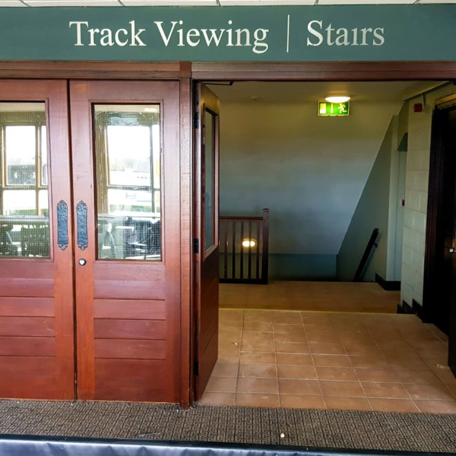 punchestown - vinyl track viewing