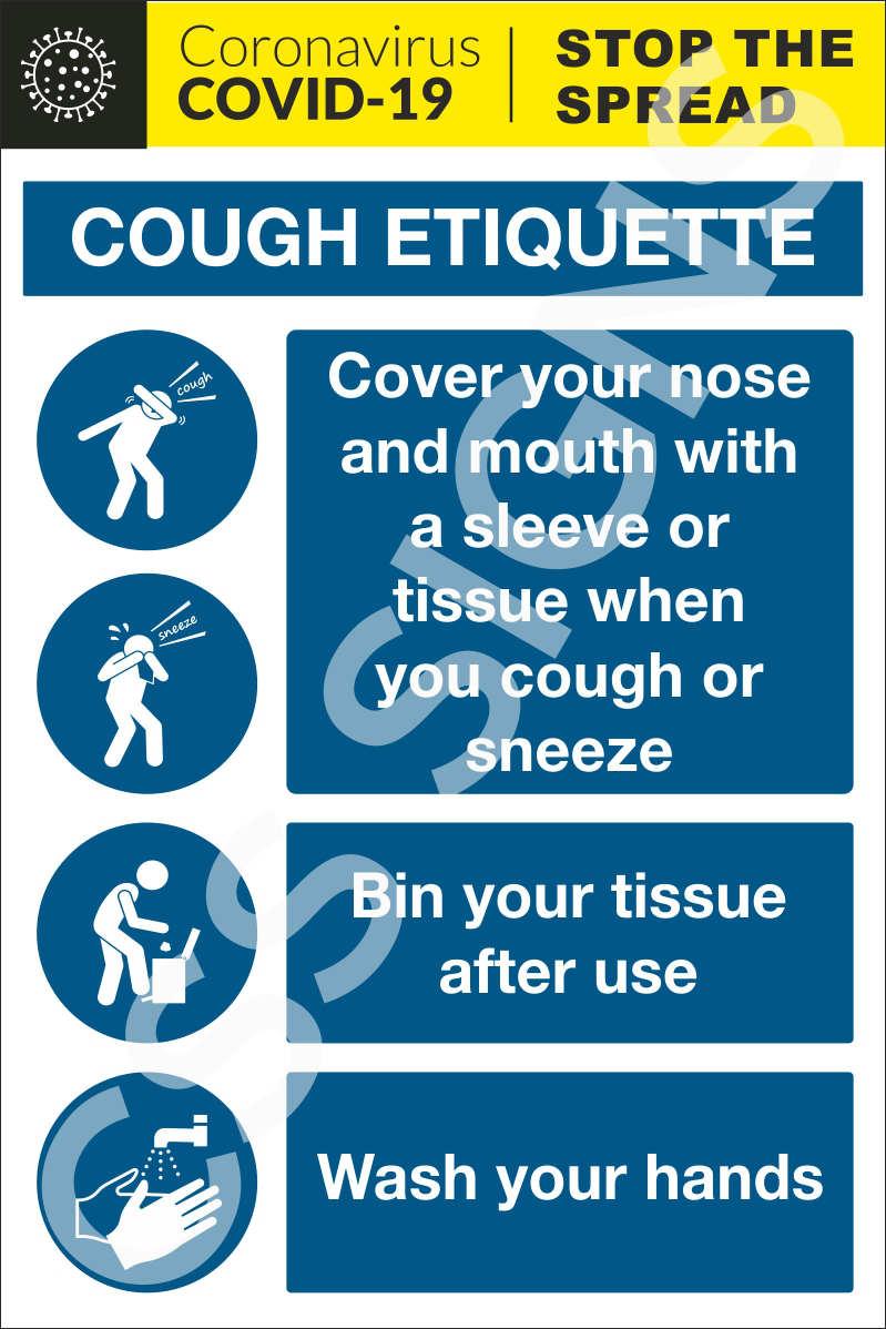 Coronavirus Cough Etiquette